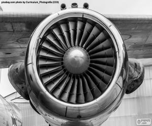 Turbine aircraft puzzle