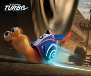 Turbo, the fastest snail of the world puzzle