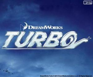 Turbo, the film logo puzzle