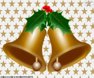 Two Christmas bells puzzle