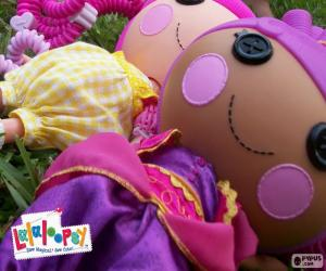 Two Lalaloopsy dolls puzzle