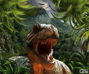 Tyrannosaurus Rex puzzle