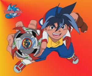Tyson Granger, the main protagonist of Beyblade puzzle
