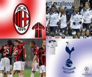 UEFA Champions League Eighth finals of 2010-11, AC Milan - Tottenham Hotspur FC puzzle