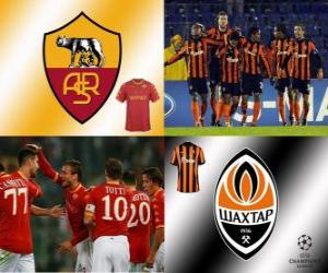 UEFA Champions League Eighth finals of 2010-11, AS Roma - Shakhtar Donetsk puzzle