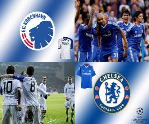 UEFA Champions League Eighth finals of 2010-11, FC Copenhague - Chelsea FC puzzle