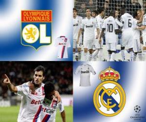 UEFA Champions League Eighth finals of 2010-11, Olympique lyonnais - Real Madrid CF puzzle