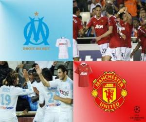 UEFA Champions League Eighth finals of 2010-11, Olympique de Marseille - Manchester United puzzle