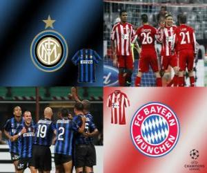 UEFA Champions League Eighth finals of 2010-11, FC Bayern Munchen - FC Internazionale Milano puzzle