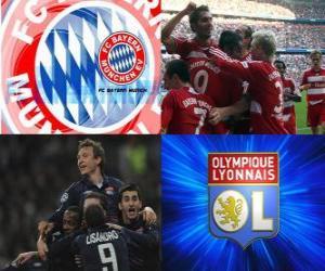 UEFA Champions League semifinal 2009-10, FC Bayern München - Olympique Lyonnais puzzle
