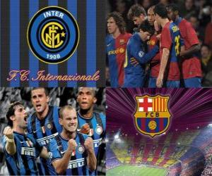 UEFA Champions League semifinal 2009-10, FC Internazionale Milano - Fc Barcelona puzzle