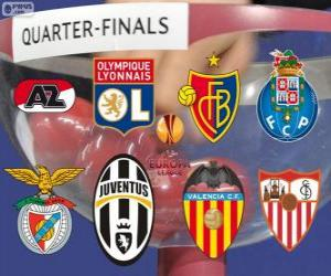 UEFA Europa League 2013-14 Quarter-finals puzzle