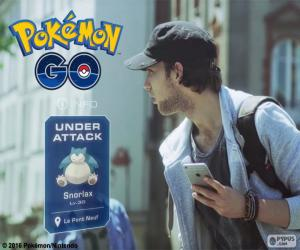 Under attack, Pokémon Go puzzle