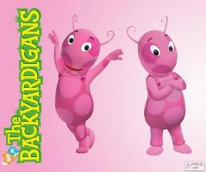 Uniqua, The Backyardigans puzzle