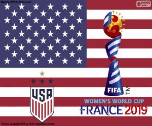 USA, 2019 World Champions puzzle