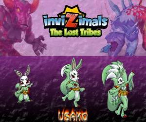 Usako, latest evolution. Invizimals The Lost Tribes. The mysterious dancer is a beautiful spy invizimal puzzle