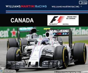 V. Bottas, 2016 Canadian Grand Prix puzzle