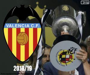 Valencia CF, Copa del Rey 2018-19 puzzle