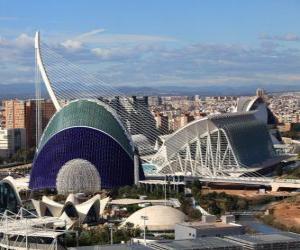 Valencia, Spain puzzle