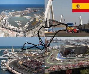 Valencia Street Circuit - Spain - puzzle