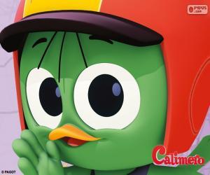 Valeriano with helmet puzzle