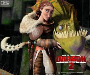 Valka mother of Hiccup puzzle