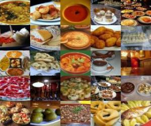Varied food puzzle