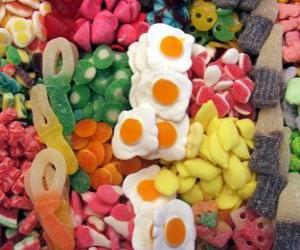 Various confectionery puzzle