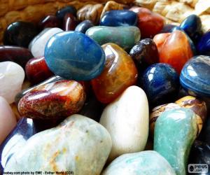Various minerals puzzle