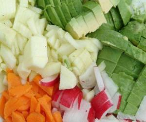 Various vegetables puzzle