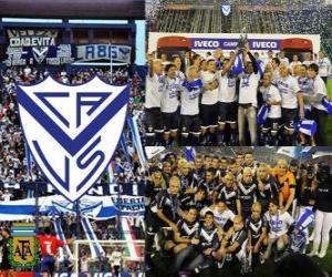 Velez Sarsfield, 2011 Clausura champion, Argentina puzzle