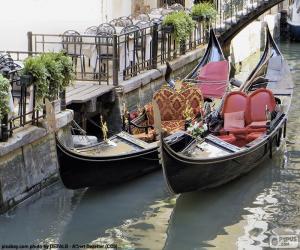 Venice gondolas puzzle