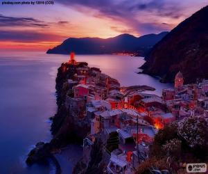 Vernazza, Italy puzzle
