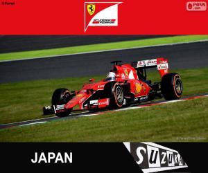 Vettel,  2015 Japanese Grand Prix puzzle