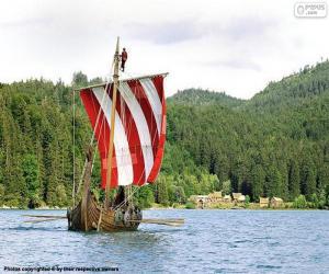 Vicky Viking ship puzzle