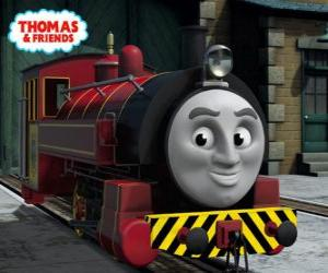 Victor is the manager of The Sodor Steamworks puzzle
