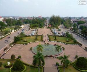 Vientiane, Laos puzzle