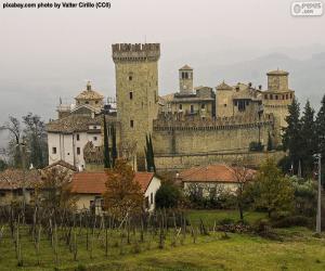 Vigoleno Castle, Italy puzzle