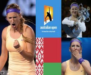 Viktoria Azarenka champion Open Australia 2013 puzzle