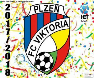 Viktoria Plzen, HET League 2017-18 puzzle