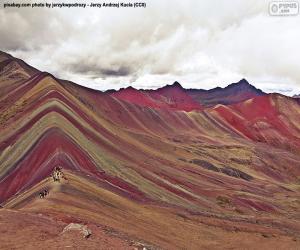 Vinicunca, Peru puzzle