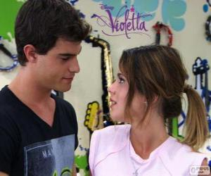 Violetta and Diego puzzle
