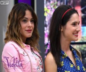 Violetta and Francesca puzzle