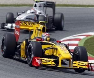 Vitaly Petrov - Renault - Barcelona 2010 puzzle