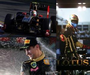Vitaly Petrov - Renault - Melbourne, Australia Grand Prix (2011) (3rd place) puzzle