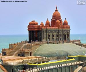 Vivekananda Rock Memorial, India puzzle