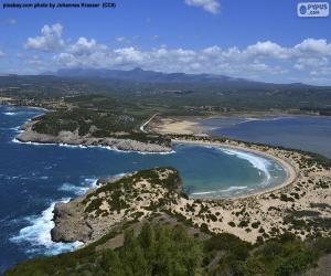 Voidokiliá Bay, Greece puzzle