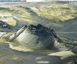 Volcano Laki, Iceland puzzle