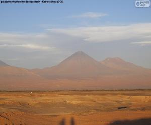 Volcanoes in Atacama, Chile puzzle