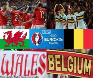 Wales-BE, quarter-final Euro 2016 puzzle